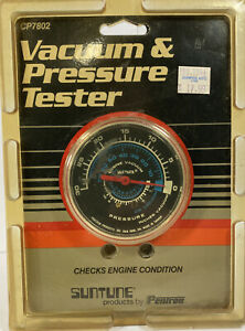 Suntune Vacuum Pressure Tester Cp7802 Test Engine Condition Ford Chevy Gmc