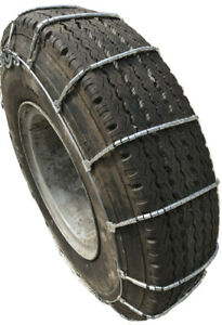Snow Chains 2316 11r 22 5 11 22 5 Cable Tire Chains With Cam Set Of 2