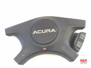 1988 1989 Acura Integra Ls Steering Wheel Center Cover With Crusise Control