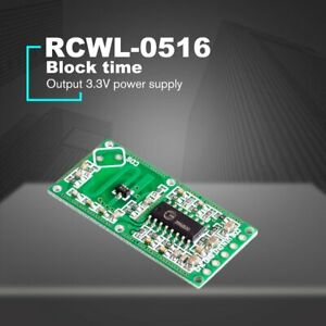 Rcwl 0516 Doppler Radar Sensor Motion Detector Microwave Module For Arduino