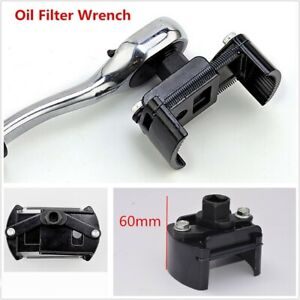 Universal Tools Adjustable 60 80mm Oil Filter Wrench 1 2 Housing Spanner Remover