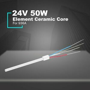 Iron Heater Electric Soldering Iron Heating Element Ceramic Core For 936a