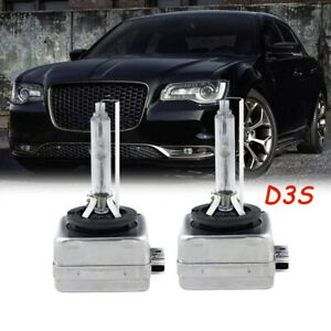 For Chrysler 300 2011 2018 2019 2020 D2s 6000k Hid Headlight Bulb High low Beam