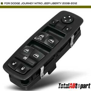 Master Control Window Switch Front Driver For Dodge Journey Nitro Jeep Liberty