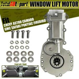 Window Motor 2pins Front Left Or Right For Chevrolet Camaro Astro Gmc 88960088