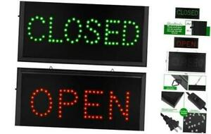 Open Closed Signs For Business Led Open Closed Sign Motion Light Sign With U
