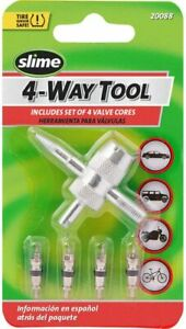 Core Remover Valve Tire Stem Tool Air Tube Replace Car Bike Threads Changing Kit
