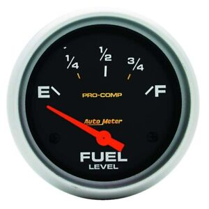 Auto Meter 5415 Pro comp Electric Fuel Level Gauge