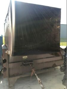 Industrial Trash Compactor For Roll Off Container