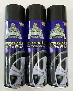 Cristal Products Untouchable Wet Tire Finish 13oz Pack Of 3