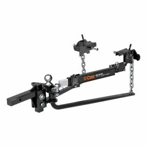 Curt 17062 Mv Round Bar Weight Distribution Hitch With Sway Control New