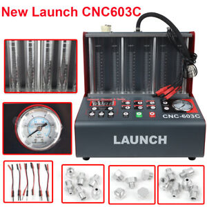 Launch Cnc603c Fuel Injector Tester Cleaner Cleaning Machine For Gasoline Car