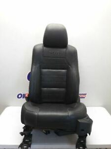 13 18 Ford Taurus Sho Driver Left Front Bucket Seat Black Leather