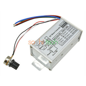 9v 60v 20a Pwm Dc Motor Driver Speed Controller Switch Stepless Variable Pulse