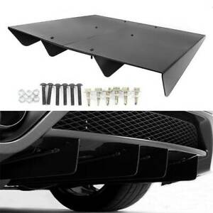 50x30 Unpainted Abs Plastic Rear Diffuser Underbody Assembly For Universal Honda