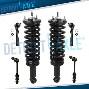 6pc Front Struts Spring Assembly Sway Bar Kit For 2003 2006 Toyota Tundra