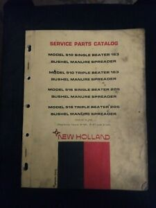 New Holland Model 510 And 516 Manure Spreader Service Parts Catalog Issue 5 70