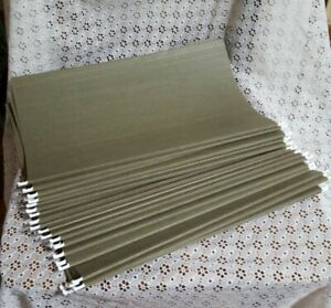 Lot Of 25 Hanging File Folders Legal Size Standard Green 25 no Tabs