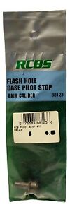 RCBS Flash Hole Deburring Tool Case Pilot Stop for 6mm Caliber #88123 $8.95