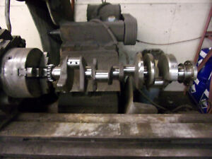 Forged Steel Small Journal Chevrolet 5 3 327 Crankshaft 1962 1966