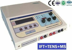 Computerised Interferential Advanced Electrotherapy Pain Management Equipment s