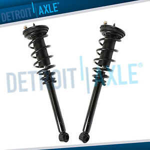 Pair 2 Rear Struts Coil Spring Assembly For 2000 2005 Mitsubishi Eclipse