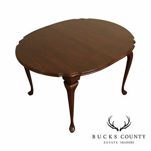 Harden Solid Cherry Queen Anne Expandable Dining Table