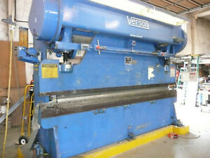Verson Mechanical Brake Press 90 Ton 12 Ft Cnc 99 Model 3010 90 Sanson Nw