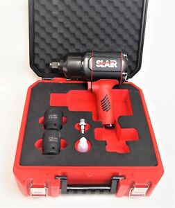 Slair 3 4 Composite Twin Hammer Air Impact Wrench Max Torque 1470 Ft lb Xx775 3