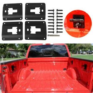 Fits For Ford F150 F250 F350 15 19 Truck Bed Box Link Cargo Tie Down Bracket 4pc
