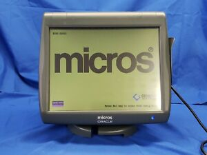 Micros Workstation 5 System Unit W base Pos 400814 001 4191