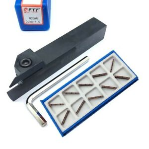 Mgehr2020 1 5 Lathe Turning Tool Grooving Cutting Holder Mgmn150 g Cnc Inserts