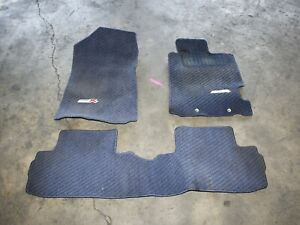 2002 2006 Acura Rsx Type R Blue Floor Mats Oem Genuine Dc5 K20a