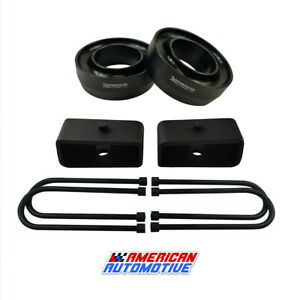 98 07 Ford Ranger Lift Kit 2wd 3 Front Spring Spacers 2 Rear Blocks