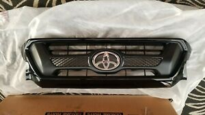 Toyota 2015 Tacoma Sport Black 202 Painted Grille Genuine Oem Oe Factory Part