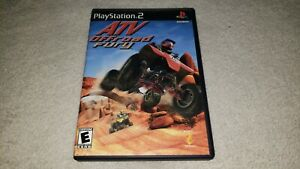 ATV Offroad Fury (Sony PlayStation 2  2001) PS2 complete with manual
