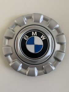 Bmw Bbs Wheel Hubcap Center Cap Silver Cover 0924187 23422 Germany