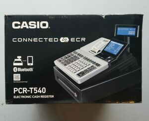 Casio Pcr t540 Electronic Cash Register With Bluetooth Free Shipping