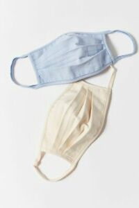 New Urban Renewal Ecovero Linen Reusable Face Mask Set From Urban Outfitters