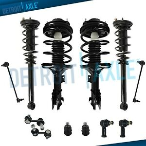 Front Rear Struts Sway Bars Ball Joints Kit For 2000 2005 Mitsubishi Eclipse