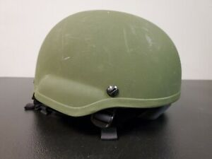 MSA Level IIIA Ballistic Combat Mid Cut Special Ops Helmet size Medium OD Green $550.00