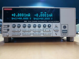 Keithley 6482 Dual Channel Picoammeter Voltage Source