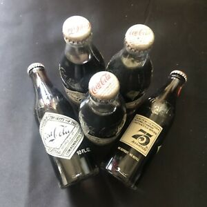 5 Coca-Cola 75th Anaversary Glass bottle Full