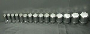 Williams 33932 3 4 Drive Metric Deep Well Socket Set Of 15 6 Point 19 60mm