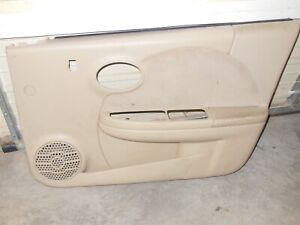 2003 Saturn Ion Right Front Door Cover Panel Tan Passenger Side Trim Interior