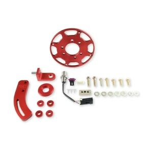 Msd 86101 Crank Trigger Kit For W Small Block Chevy Engines Red New