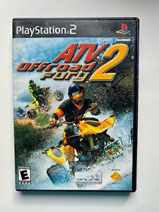 🎮 PlayStation 2 ATV Offroad Fury 2 PS2 (Complete) TESTED
