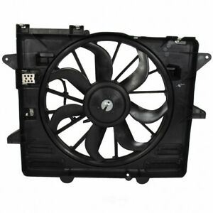 Engine Cooling Fan Assembly Supercharged Rf 358 Fits 2013 Ford Mustang 5 8l V8