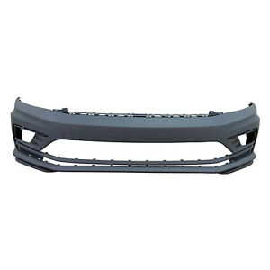 Vw1000242c New Replacement Front Bumper Cover Fits 2016 2018 Volkswagen Jetta