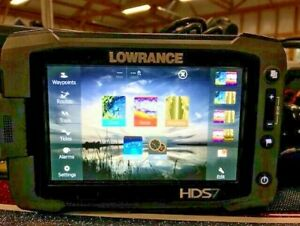 Lowrance HDS7 Gen 2 Touch Fishfinder GPS Charts Transducer